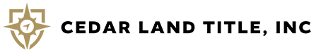 Cedar Land Title, Inc. logo